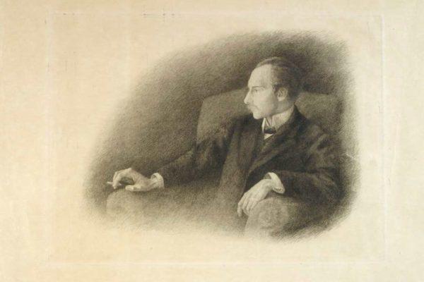 Τουργκιένιεβα Α. Α. Πορτραίτο του Αντρέι Μπέλι, 1909