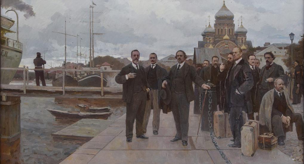 Η  μεγάλη έξοδος ή το ατμόπλοιο των φιλόσοφων