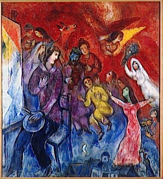 Μαρκ Σαγκάλ Στη μνήμη των ζωγράφων που έπεσαν θύματα στο Ολοκαύτωμα